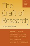 Craft of Research 4th 2016 9780226239736 Front Cover