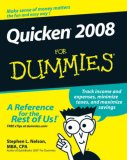 Quicken 2008 for Dummies 2007 9780470174739 Front Cover