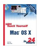 Mac Os X in 24 Hours 2nd 2002 Revised 9780672324741 Front Cover