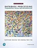 Database Processing: Fundamentals, Design, and Implementation
