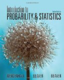 Introduction to Probability and Statistics 14th 2012 9781133103752 Front Cover