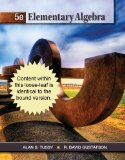 Cengage Advantage Books: Elementary Algebra 5th 2012 9781111987756 Front Cover