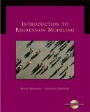 Introduction to Regression Modeling (with CD-ROM) 1st 2005 9780534420758 Front Cover