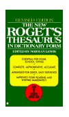 New Roget's Thesaurus 1986 9780425099759 Front Cover