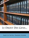 Droit des Gens 2012 9781277710762 Front Cover