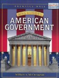 Magruder's American Government 1st 2004 Student Manual, Study Guide, etc.  9780131816763 Front Cover