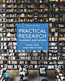 Practical Research + Mylab Education With Pearson Etext Access Card: Planning and Design