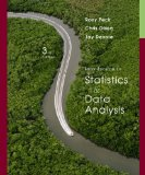 Introduction to Statistics and Data Analysis 3rd 2007 9780495118763 Front Cover