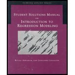 Introduction to Regression Modeling 1st 2005 9780534420765 Front Cover