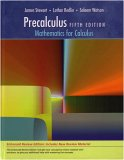 Precalculus Mathematics for Calculus 5th 2007 9780495392767 Front Cover
