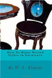 How to Know Period Styles in Furniture 2010 9781451502770 Front Cover