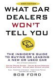 What Car Dealers Won't Tell You 2005th 2005 Revised  9780452286771 Front Cover