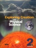 Exploring Creation with Physical Science Student Text 9781932012774 Front Cover