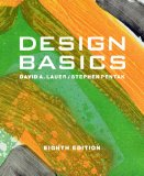 Design Basics Includes CourseMate Printed Access Card 8th 2011 9780495915775 Front Cover