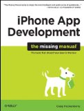 iPhone App Development 1st 2010 9780596809775 Front Cover