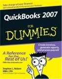 QuickBooks 2007 for Dummies 14th 2006 9780470072783 Front Cover