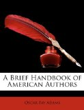 Brief Handbook of American Authors 2010 9781148280783 Front Cover