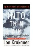 Into Thin Air A Personal Account of the Mt. Everest Disaster 1st 1999 9780385494786 Front Cover