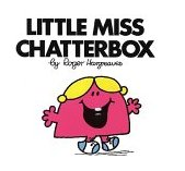 Little Miss Chatterbox 1999 9780843174793 Front Cover