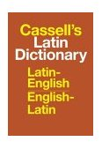 Cassell's Latin Dictionary Latin-English, English-Latin 1977 9780025225800 Front Cover