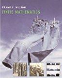 Finite Mathematics 1st 2006 9780618856800 Front Cover