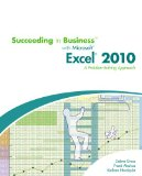 Succeeding in Business with Microsoft� Excel� 2010 2010 9780538745802 Front Cover
