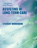 Assisting in Long-Term Care 4th 2001 Workbook 9780766834804 Front Cover