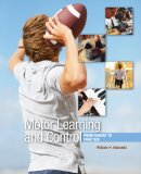 Motor Learning and Control From Theory to Practice 2010 9780495010807 Front Cover
