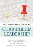 Principal's Guide to Curriculum Leadership 2011 9781412980807 Front Cover
