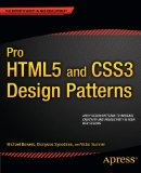 Pro HTML5 and CSS3 Design Patterns 2011 9781430237808 Front Cover