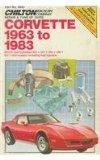 Chilton's Corvette 1963-83 1986 9780801976810 Front Cover