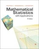Mathematical Statistics with Applications 7th 2007 Revised  9780495110811 Front Cover
