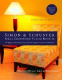Simon and Schuster Mega Crossword Puzzle Book #4 2009 9781416587811 Front Cover