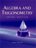 Algebra and Trigonometry 6th 2003 9780618317820 Front Cover
