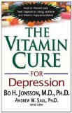 Vitamin Cure for Depression How to Prevent and Treat Depression Using Nutrition and Vitamin Supplementation 2012 9781591202820 Front Cover