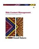 Web Content Management A Collaborative Approach 2001 9780201657821 Front Cover