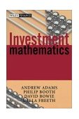 Investment Mathematics 2nd 2003 Revised  9780471998822 Front Cover