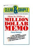 How to Write a Million Dollar Memo 1984 9780440537823 Front Cover