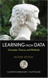 Learning from Data Concepts, Theory, and Methods 2nd 2007 Revised  9780471681823 Front Cover