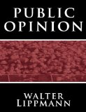 Public Opinion by Walter Lippmann 2010 9781607962823 Front Cover