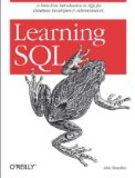 Learning SQL Master SQL Fundamentals 2nd 2009 Annotated 9780596520830 Front Cover