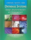 Database Systems Design, Implementation and Management 9th 2009 9780538748841 Front Cover