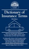 Dictionary of Insurance Terms 5th 2008 Revised 9780764138843 Front Cover