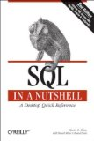 SQL in a Nutshell A Desktop Quick Reference Guide 3rd 2008 Revised  9780596518844 Front Cover