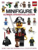 LEGO Minifigure Ultimate Sticker Collection 2009 9780756659844 Front Cover