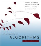 Introduction to Algorithms 3rd 2009 9780262033848 Front Cover