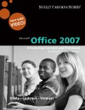 Microsoft Office 2007 Introductory Concepts and Techniques 1st 2009 9780324826852 Front Cover
