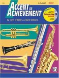 Accent on Achievement, Bk 1 B-Flat Clarinet, Book and CD 1997 9780739004852 Front Cover