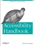 Accessibility Handbook 1st 2012 9781449322854 Front Cover