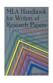 MLA Handbook for Writers of Research Papers, 6th Ed 6th 2003 9780873529860 Front Cover